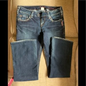 Silver Jeans Tuesday Low Rise - See measurements